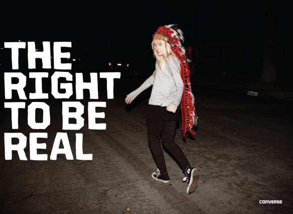 The right to be real