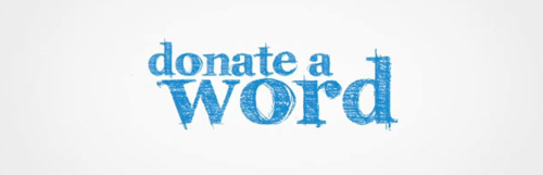 Donate a Word